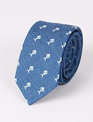 Corbatas ( Azul/Azul Claro , Algodón )- Modelo
