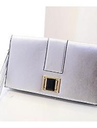 Women 's PU Sling Bag Shoulder Bag - Gold/Silver/Black