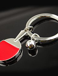 Table Tennis Souvenir Key Ring