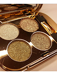 4 Color Shimmer Eye Shadow No.1-6(Assorted Colors)
