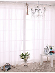 Two Panels European Contracted Fashion Style Window Screening Small Squares