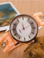 fahion pulseira de metal relógio currem