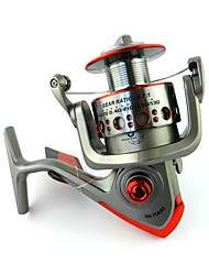 Hengjia  5.1:1 6BB 7000 Series Fishing Reel bait casting reels metal Fishing Reels Front Drag Spining Reel SK70