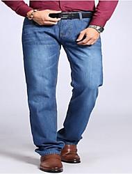 Pantalón De los hombres Casual/Trabajo/Formal Vaquero