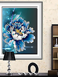 bricolage kit diamant point de croix, floral 50 * 70
