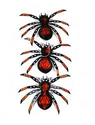 Halloween papier araignée paroi de plafond suspendu décoration 3 pcs
