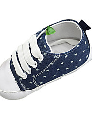 Baby Shoes Outdoor/Casual Cotton/Fabric Fashion Sneakers Blue