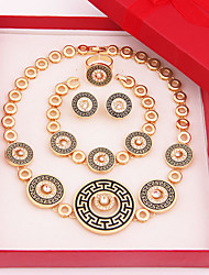 Jewelry-Necklaces / Earrings / Rings / Bracelets & Bangles(Alloy / Rhinestone)Wedding / Party