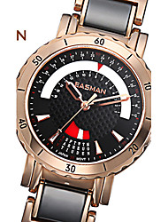 EASMAN® Women Watch Black Ceramic Watch Calendar 2015 Quartz Watch Rose Gold Wristwatches Clock Fashion Casual Watches Cool Watches Unique Watches