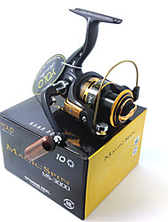 YOLO MS3000 5.1:1 10 Ball Bearings Magic Spin Aluminum Spool Computer Balanced Spinning Reel