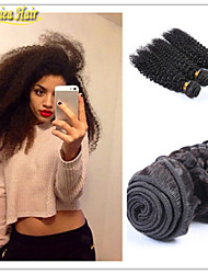 3 Pcs/Lot Cheap 3Bundles Afro Kinky Curl Unprocessed Virgin Human Hair Machine Weaving No Shedding Tangle Free