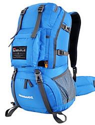 OSEAGLE Nylon Backpack Hiking Bag Camping Travel Rucksack Sports Waterproof Pack 45L