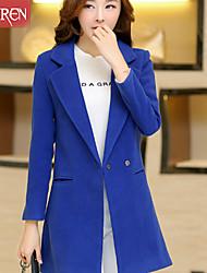 Muairen®Women'S Slim Fashion Woolen Coat Jacket