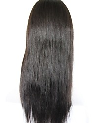 Front Lace Human Hair Wigs Brazilian Virgin Hair Straight Human Hair Lace Front Wigs