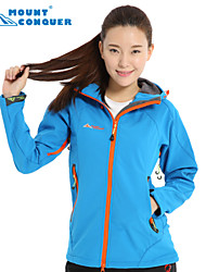 Mount Conquer Women's Outdoor Jacket Brand Hiking Jacket Softshell Jacket Windproof  Thermal  Camping Jacket