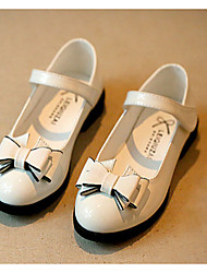 Girls' Shoes Casual Round Toe Leatherette Flats Black/Pink/White