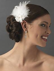 Hand Made Wedding Feather Hair Clip Fascinator Headpieces Fascinators 048