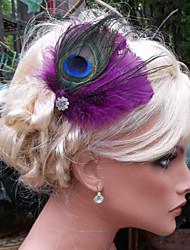 Hand Made Wedding Feather Hair Clip Fascinator Headpieces Fascinators 026