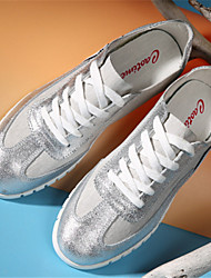 Men's Shoes Casual Fabric Fashion Sneakers Silver/Gray