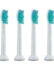 4pcs A Set Sonic Replacement Electric Toothbrush Heads Soft-bristled HX6014 for Philips
