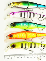 Hard Fishing Baits  5 pcs Three-section Floating Minnow 125MM 16.2G