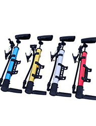 LUGERDA Portable high pressure inflator aluminum alloy bicycle pump mountain bike mini pump gun