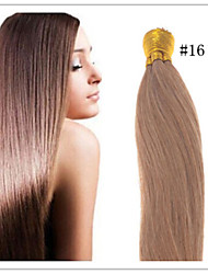 "Cheap 18""-28"" Keratin Pre-bonded Indian Virgin Straight Hair I Tip Hair Extensions 1G/S 50G/PC 1Pc/Lot In Stock"