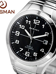 homens easman relógio marca automática mecânicos homens assistir clássicos grande vantagem discar relógios de luxo elevados 14 jóias