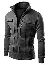 Informeel / Zakelijk Trui met capuchon - MEN - Truien en hoodies ( Katoenmengeling )met Lange Mouw
