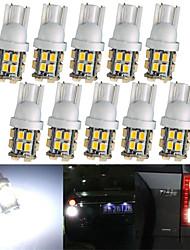 lorcoo ™ 10 x T10 20-SMD 1210 weiße LED-Autoscheinwerfer Glühlampe 194 168 2825 5W