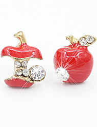 Earring Stud Earrings / Drop Earrings Jewelry Women Alloy / Cubic Zirconia / Platinum Plated 1set Gold