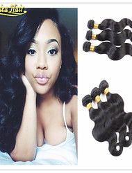 3PCS/lot Best Selling Brazilian Hair weft Body Wave Remy Human Hair Weaves Hair Extensions Products