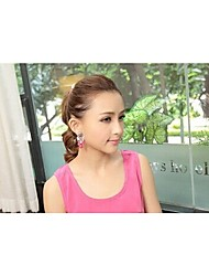 LJD Gemstone Diamond Earing