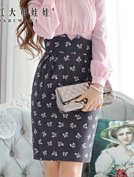Pink Doll®Women's Casual/Party/Print  High Waist Skirts