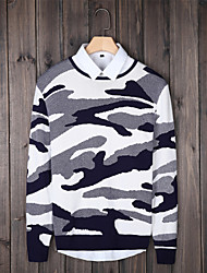 2015 Korean winter Camo sweater men's T-shirt sweater sweater