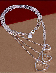 Party/Casual Silver Plated Layered