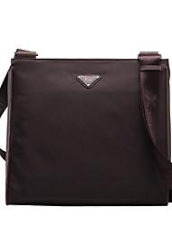 tela oxford café cuero genuino diseño único maletines mensajero del bolso de negocio original bolsas solo hombro