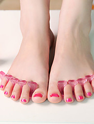 2 peças separador de dedos definir pedicure manicure acessório salão de beleza