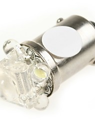 5 12v branco levou 10pcs BA9S bulbos definidos