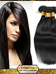 Peruvian Virgin Hair Rosa Hair Straight Hair Weave Weft 12 14 16 18 20 22 24 26 28 30 Inch 4pcs/lot 400g