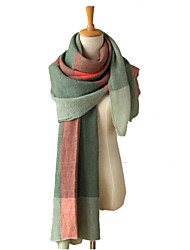 Women's fashion Plaid scarves