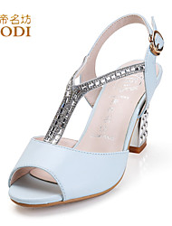 DDMF®2015 summer sandals waterproof Ms. female word buckle sandals slope with high-heeled closed-toe shoes