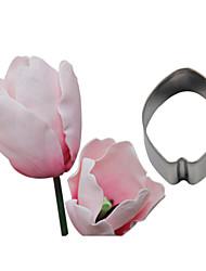 Four-C тиснение цветок из нержавеющей стали украшения катера помадные печенье аксессуары инструменты кекс формы для выпечки