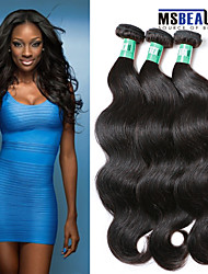 "3 Pcs /Lot 8""-30""Malaysian Virgin Hair Body Wave Hair Weft 100% Unprocessed Remy Human Hair Weaves"