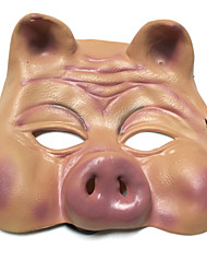 April Fool's Day Halloween Makeup Ball Funny Pig's Head Mask