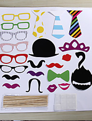22 Sets Of Interesting Birthday Party Welcome  Wedding Pictures Props Lips