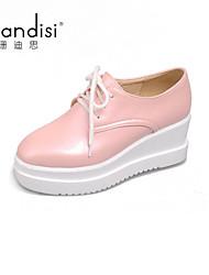 Women's Shoes Wedge Heel Wedges/Heels Pumps/Heels Casual Blue/Pink/White