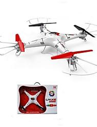 lh-x6 zangão 2,4 g 6axis 55 centímetros ufo 4ch rc zangão quadricopter controlada com câmera de 2MP e acrobacias 3d rolamento