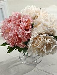 """10.2 """"h fleur de soie artificielle pivoine 2 pcs"""