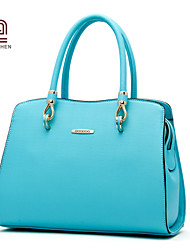 Handcee® Cheap Good Quality PU Women Simple Style Tote Bag